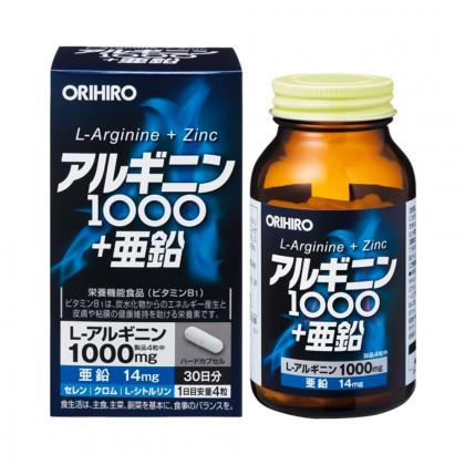 Viên uống bổ gan, thận cho nam giới Orihiro 120 viên Nhật Bản chính hãng