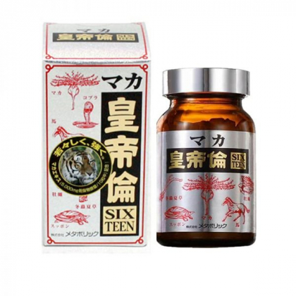 Viên uống bổ thận tráng dương Maka Sixteen Nhật Bản 200 viên chính hãng