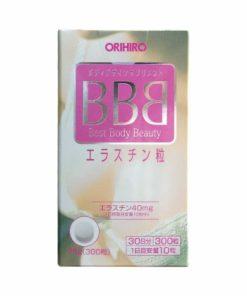 Viên uống nở ngực Orihiro BBB Best Body Beauty