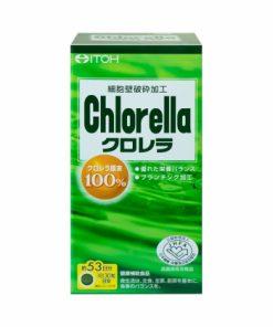 Viên uống tảo diệp lục Itoh Chlorella 1600 viên chính hãng nhập khẩu