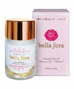 Viên uống tinh chất hoa hồng Bella Fora Nhật Bản 35 viên chính hãng