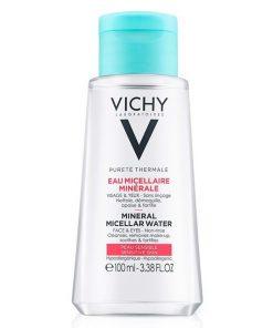 Nước Tẩy Trang Cho Da Nhạy Cảm Vichy Purete Thermale Mineral Micellar Water 100ml