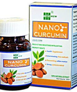 Nano Curcumin OIC tốt cho người bệnh dạ dày
