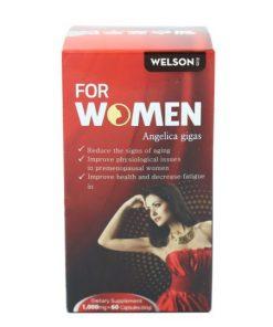 WELSON FOR WOMEN, Viên uống WELSON tăng sinh lý nữ