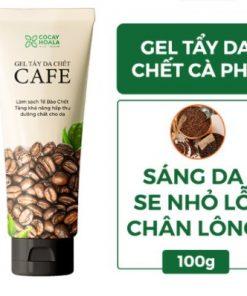 Kem tẩy da chết Cocayhoala 100g chiết xuất cà phê