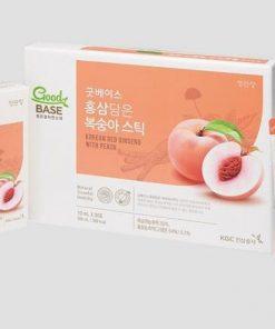 Nước Đào Hồng Sâm Cheong Kwan Jang GoodBase Korean Red Ginseng