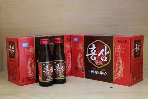 Nước hồng sâm Dongnam Hàn Quốc chai 100mlx10