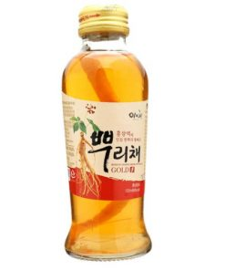 Nước hồng sâm củ Ebiche Hàn Quốc hộp 10 chai chính hãng