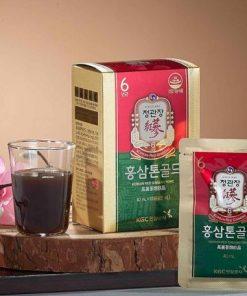 Nước hồng sâm pha sẵn dạng gói Cheong Kwan Jang Tonic Gold