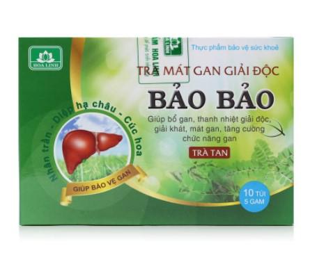 Trà tan Bảo Bảo mát gan, giải độc Hoa Linh