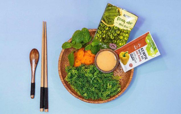 Rong nho được dùng nhiều trong các bữa ăn hiện nay